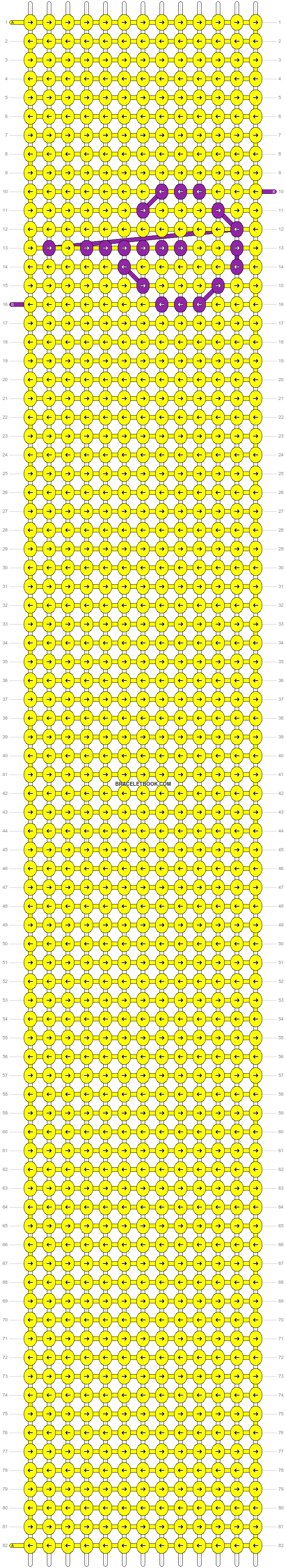 Alpha pattern #14455 pattern