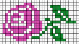 Alpha Friendship Bracelet Pattern #14456
