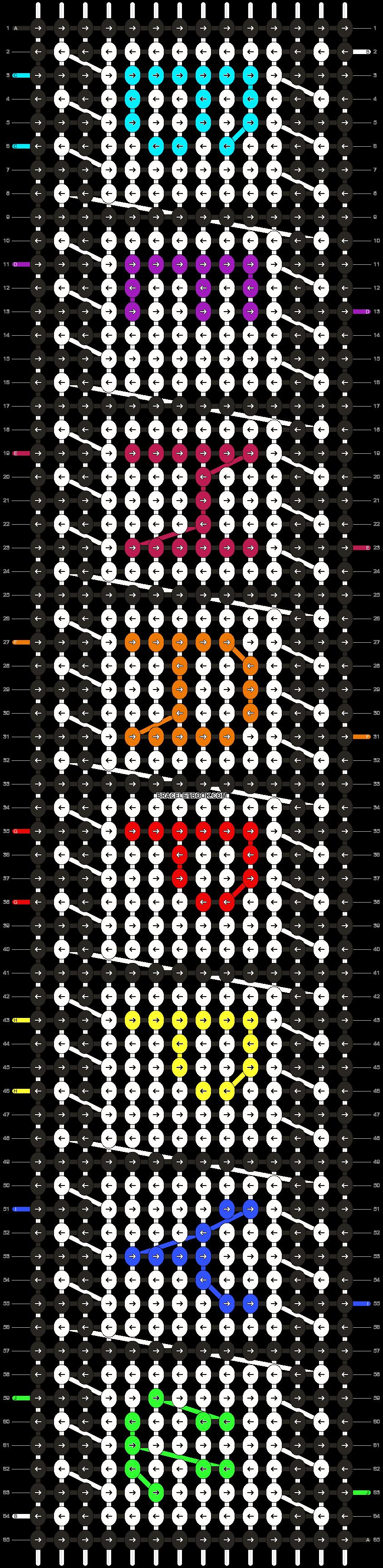 Alpha pattern #14457 pattern