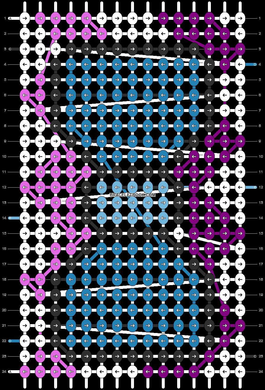 Alpha pattern #14467 pattern