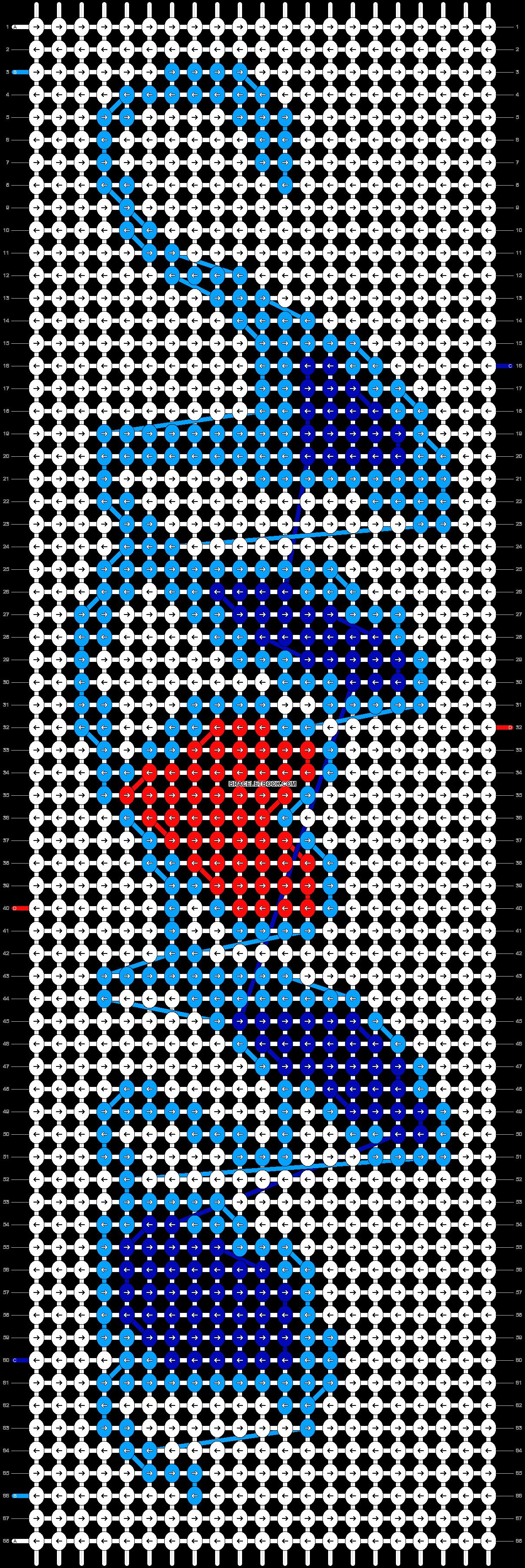 Alpha pattern #14469 pattern