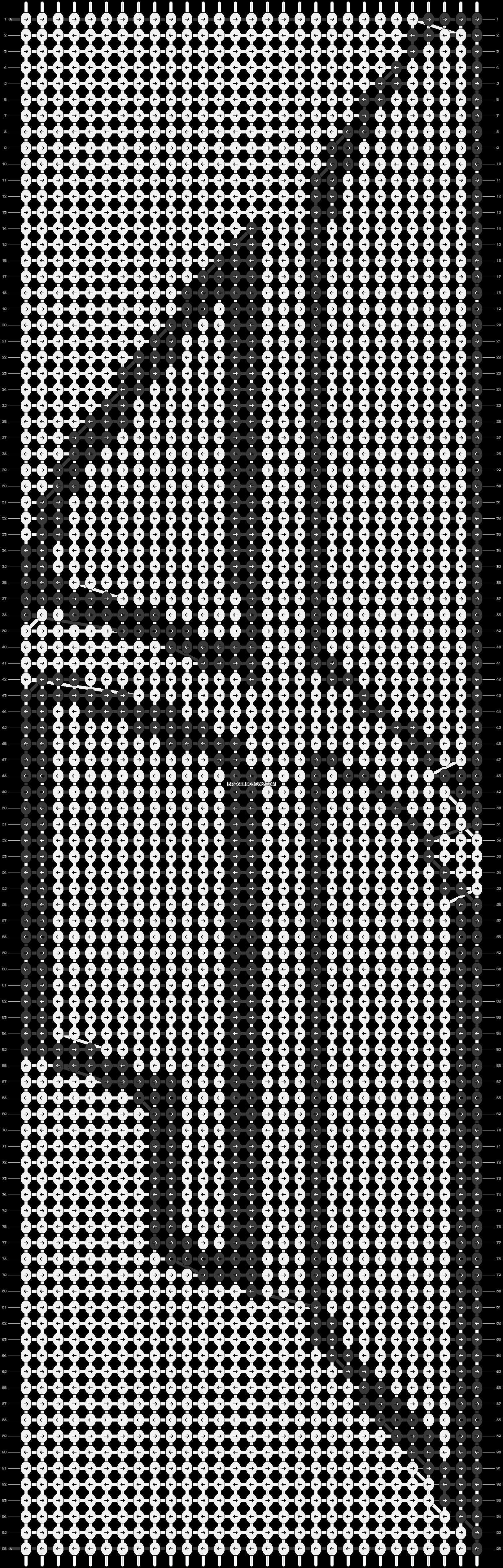 Alpha pattern #14470 pattern