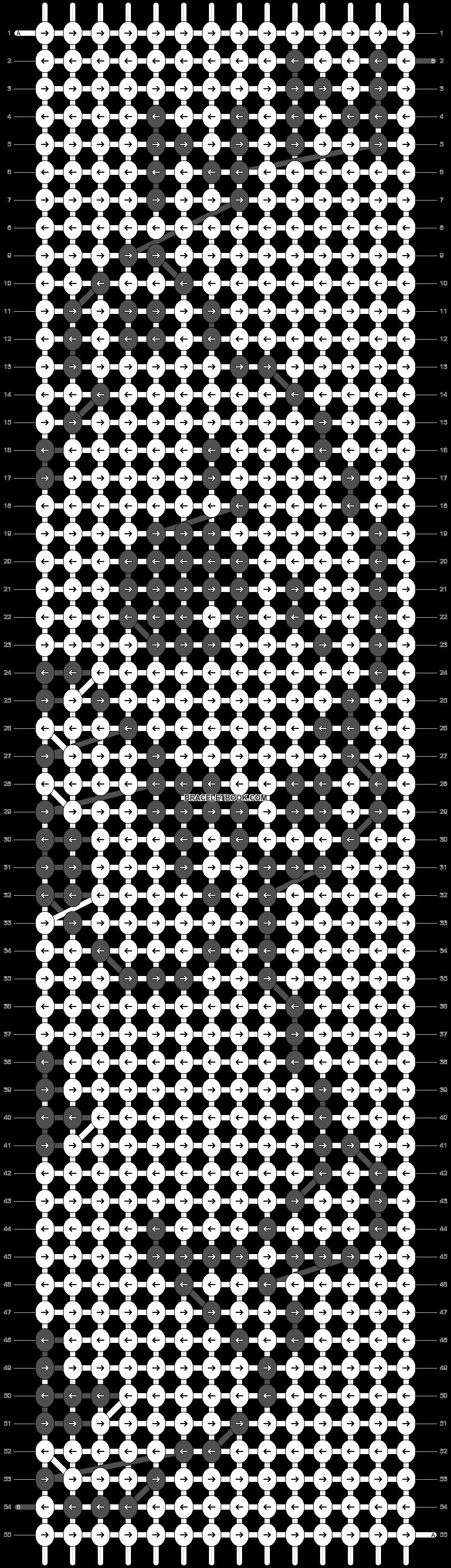 Alpha pattern #14472 pattern
