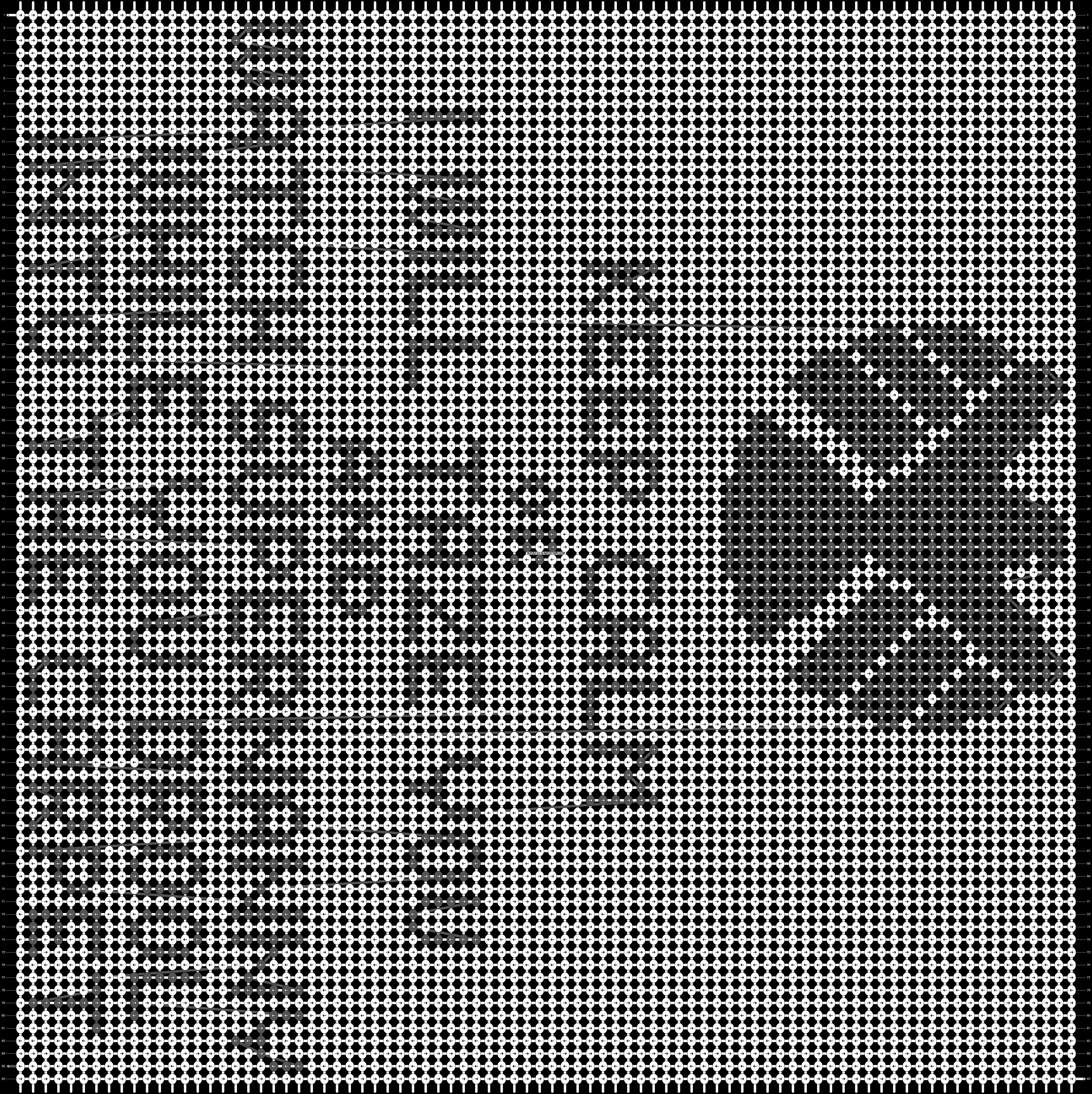 Alpha pattern #14476 pattern