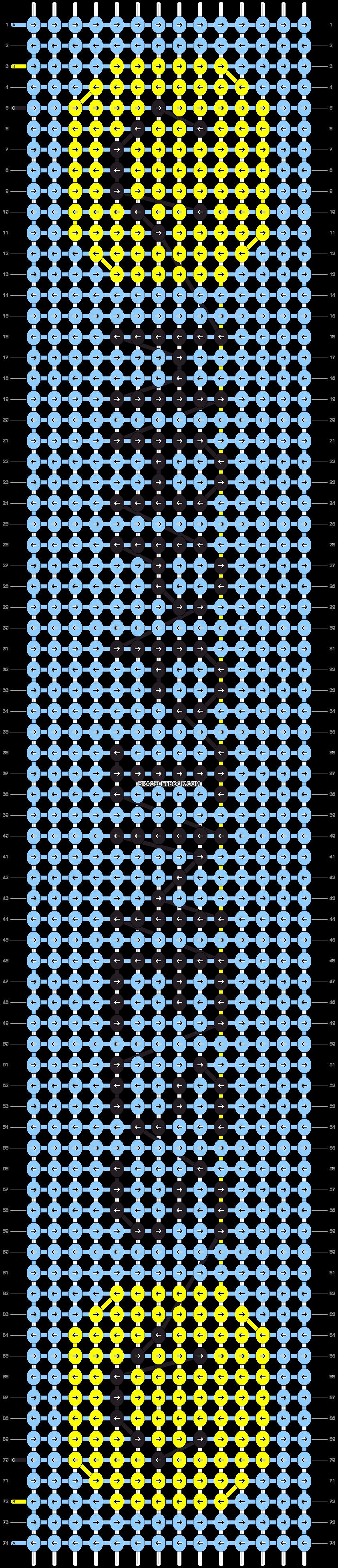Alpha pattern #14477 pattern