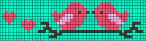 Alpha pattern #14478