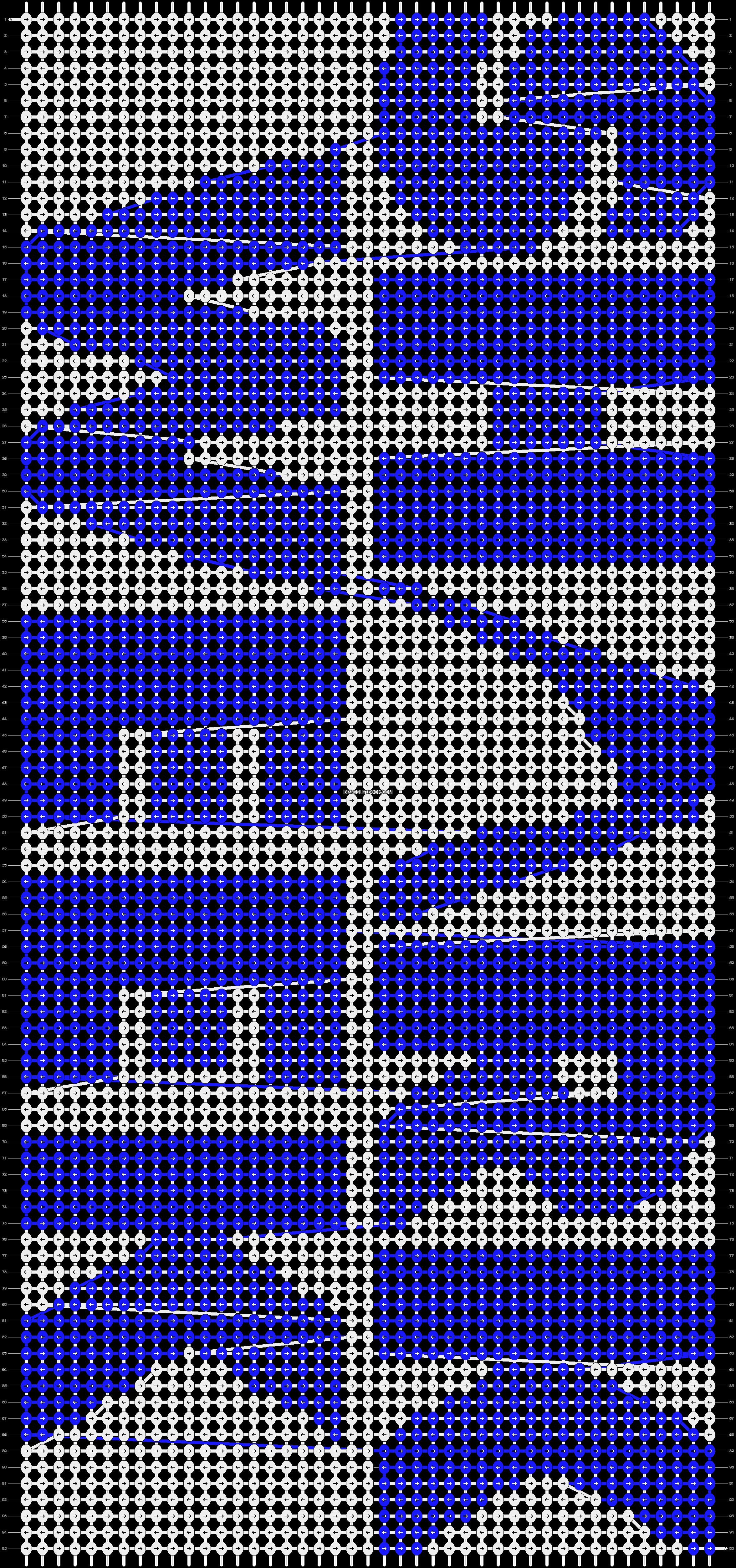 Alpha pattern #14482 pattern