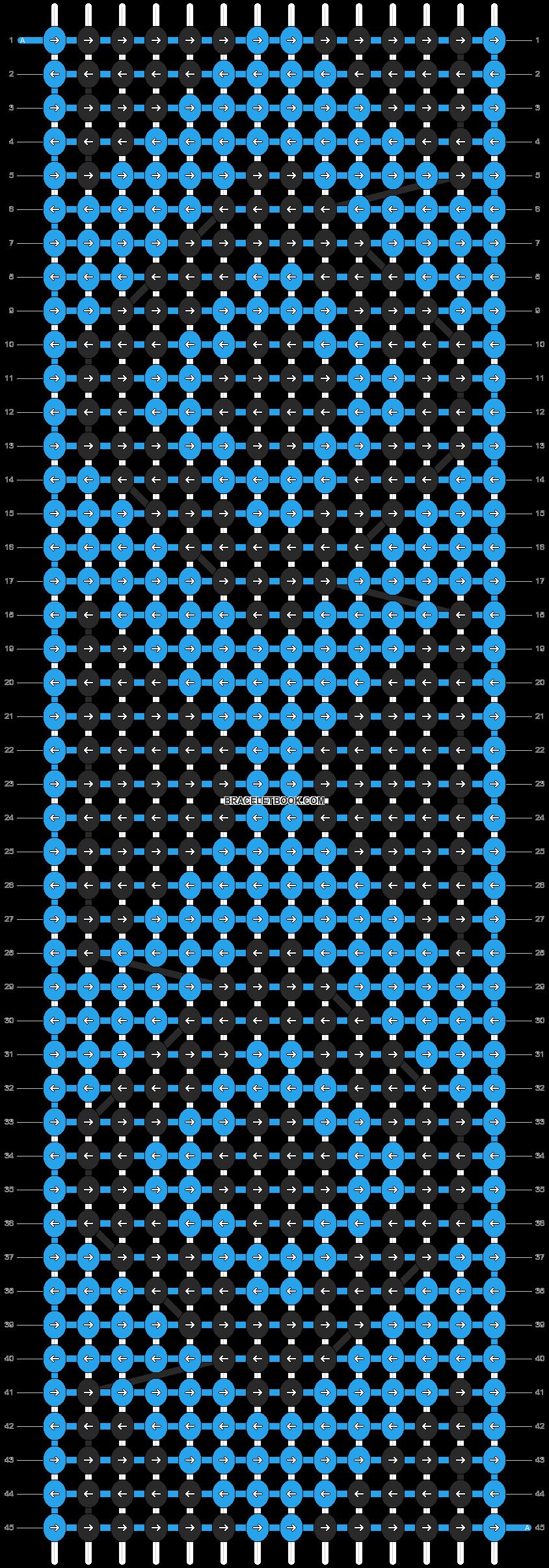 Alpha pattern #14484 pattern