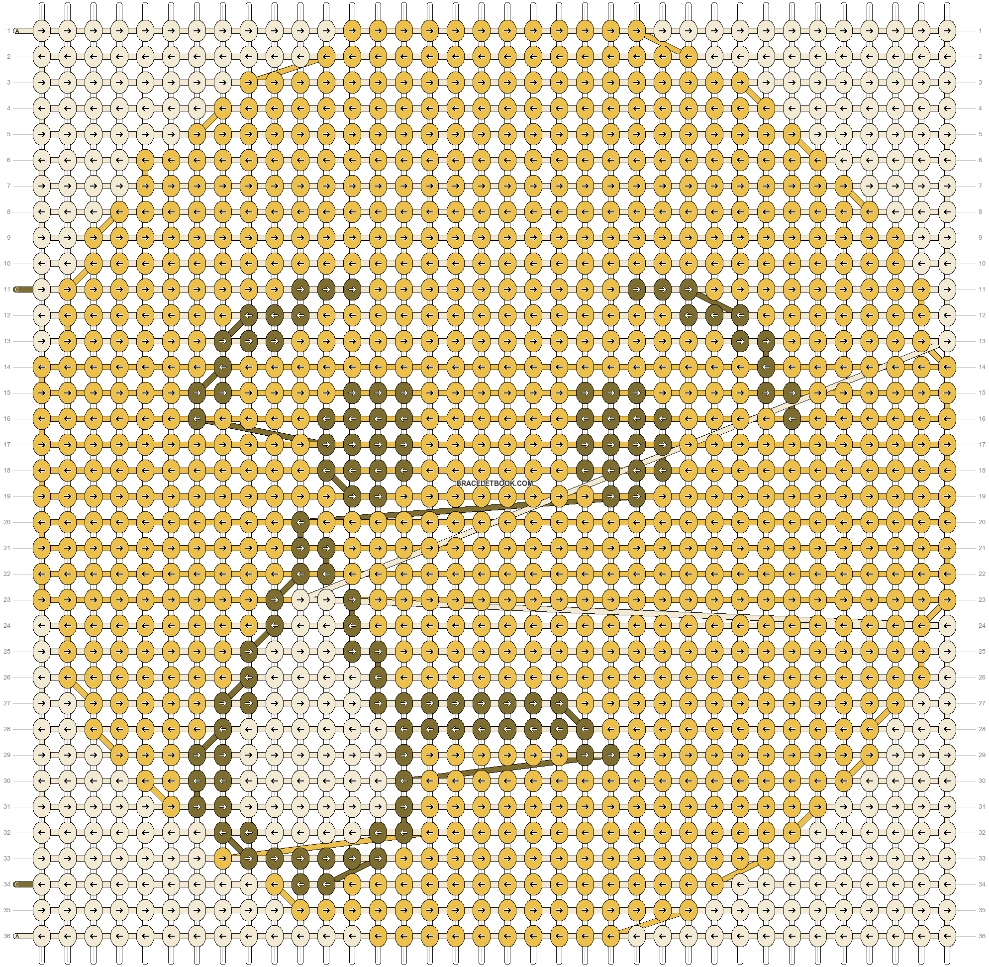 Alpha pattern #14489 pattern