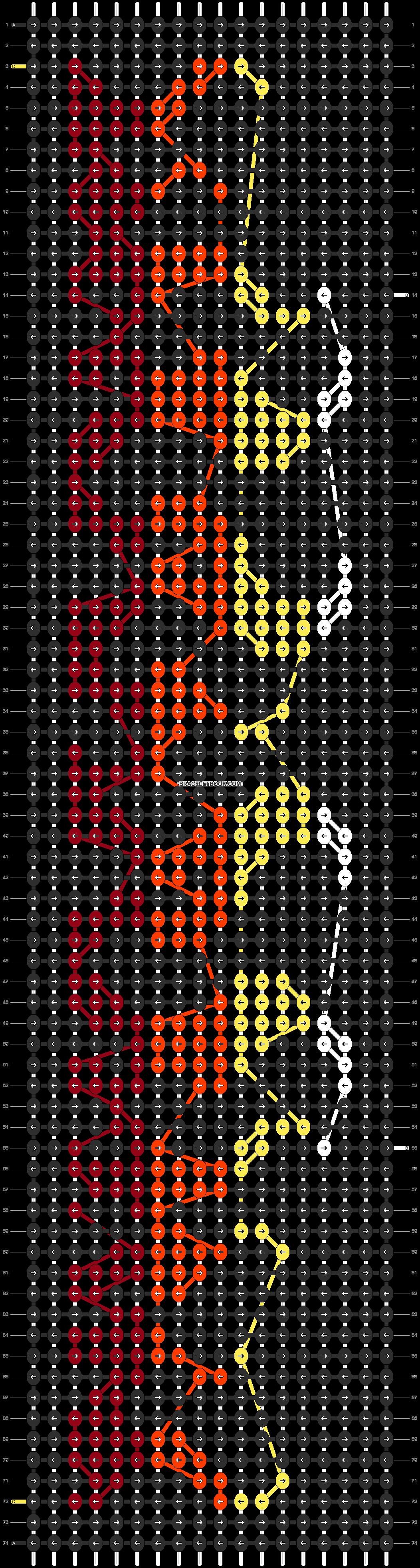 Alpha pattern #14497 pattern