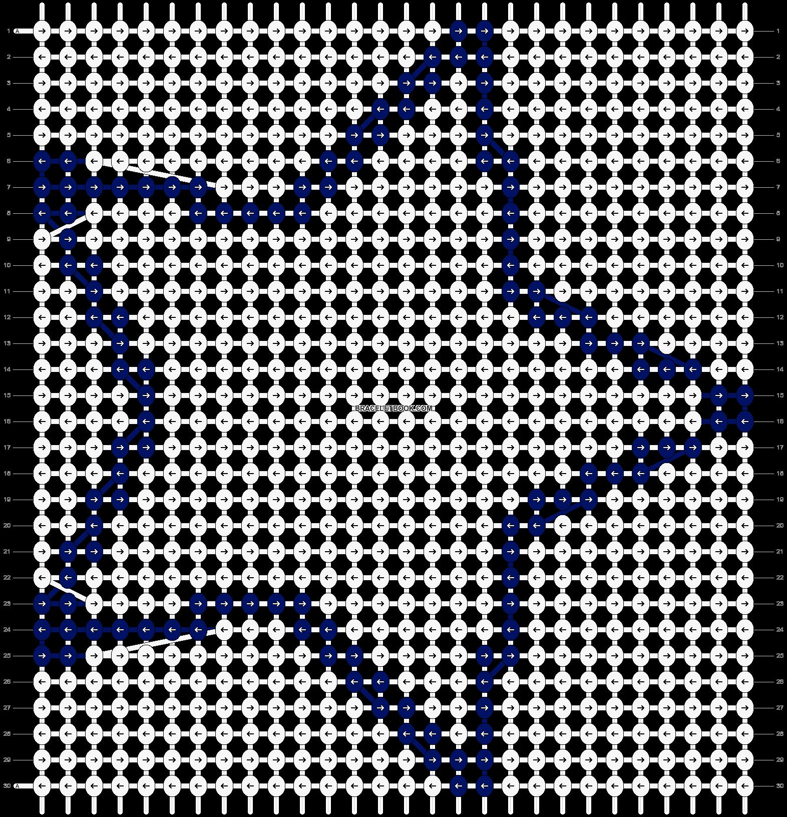 Alpha pattern #14501 pattern