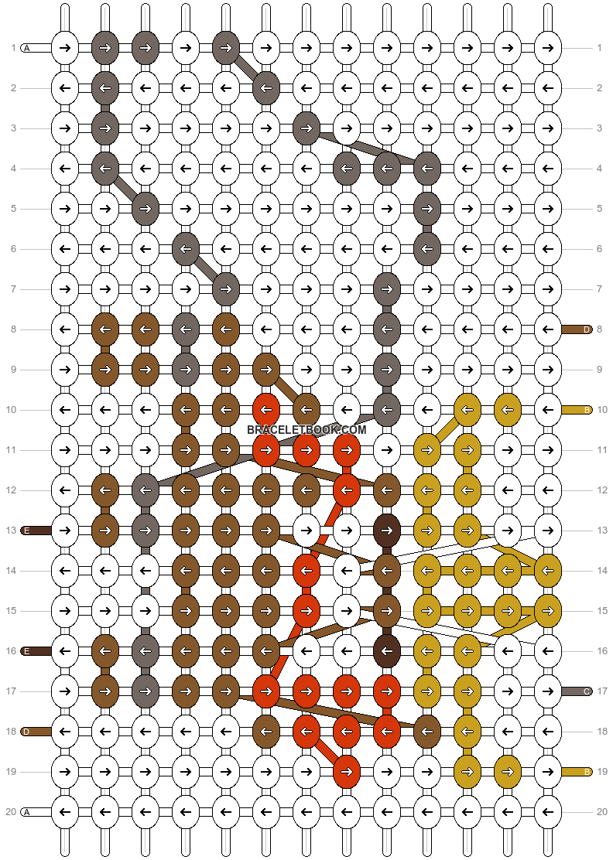 Alpha pattern #14503 pattern