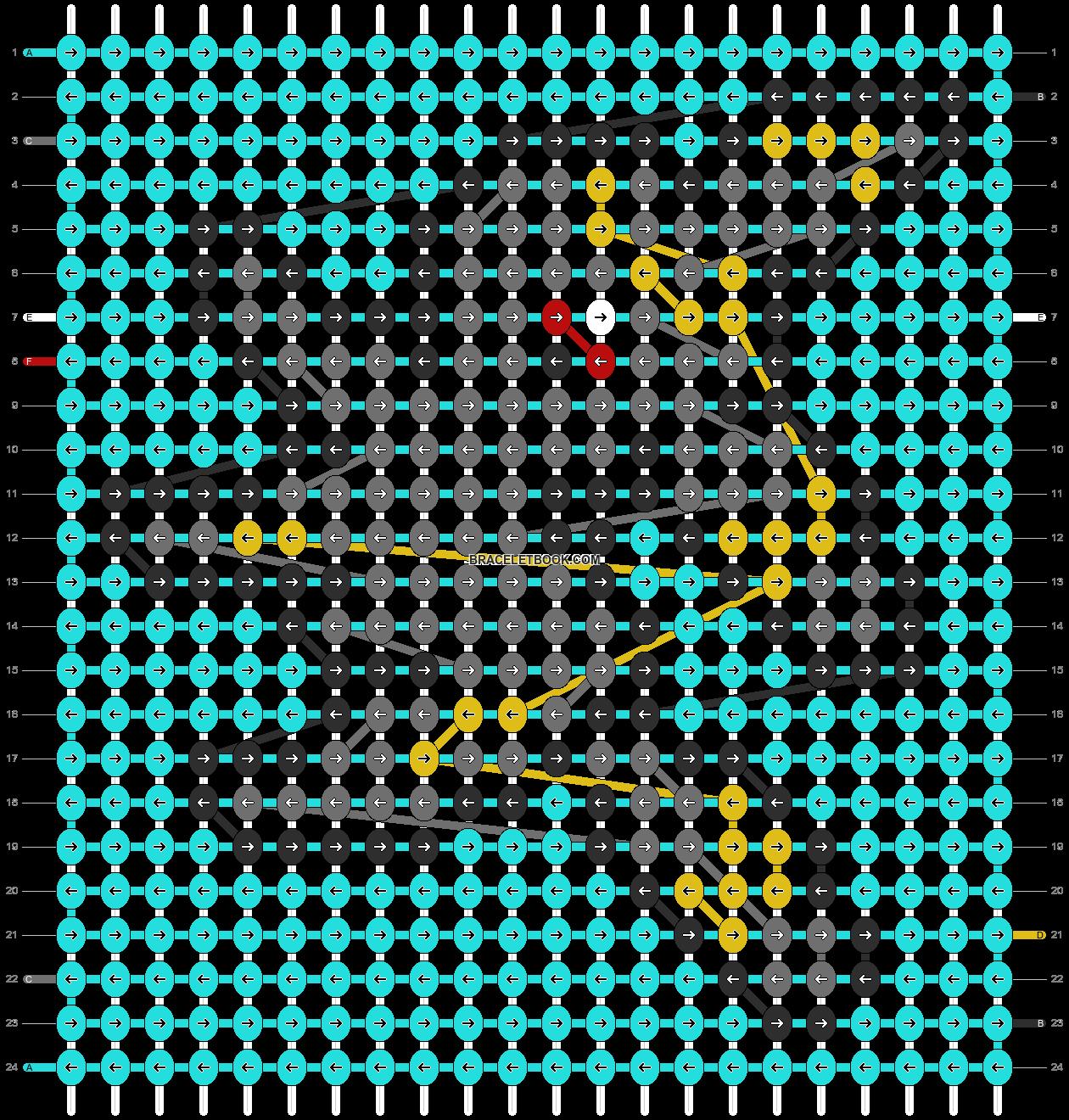 Alpha pattern #14504 pattern