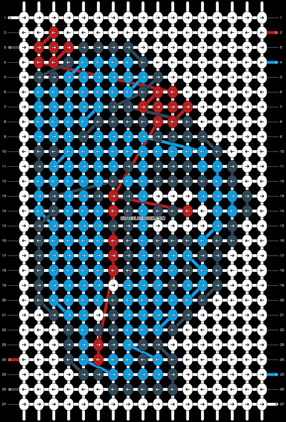 Alpha pattern #14506 pattern