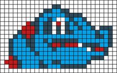 Alpha pattern #14506