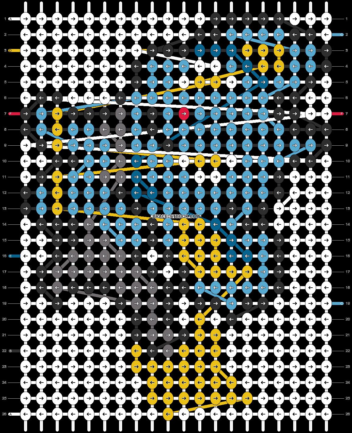 Alpha pattern #14508 pattern