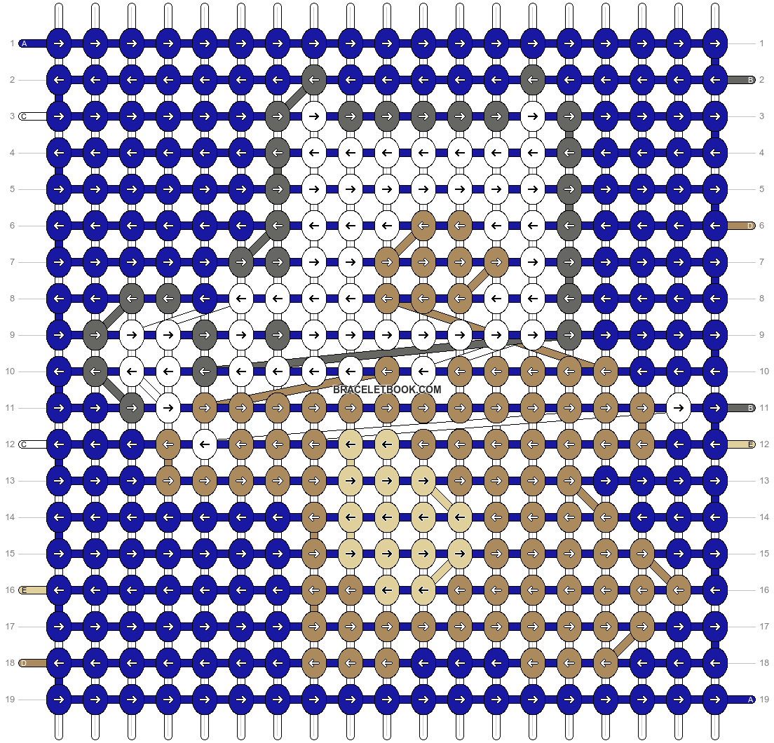Alpha pattern #14509 pattern