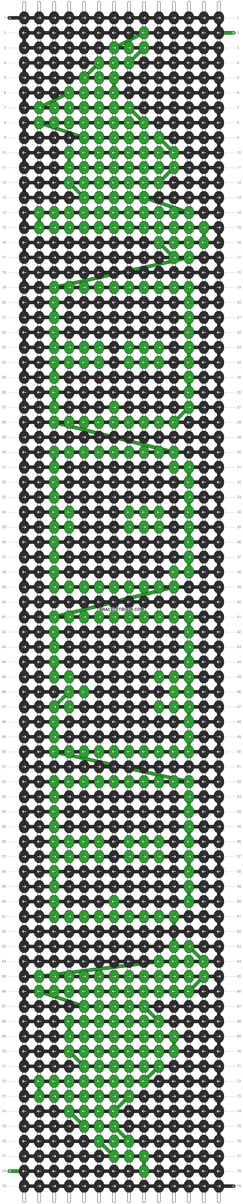Alpha pattern #14513 pattern