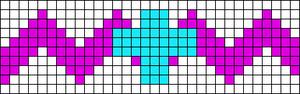 Alpha Friendship Bracelet Pattern #14515