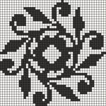 Alpha pattern #14517