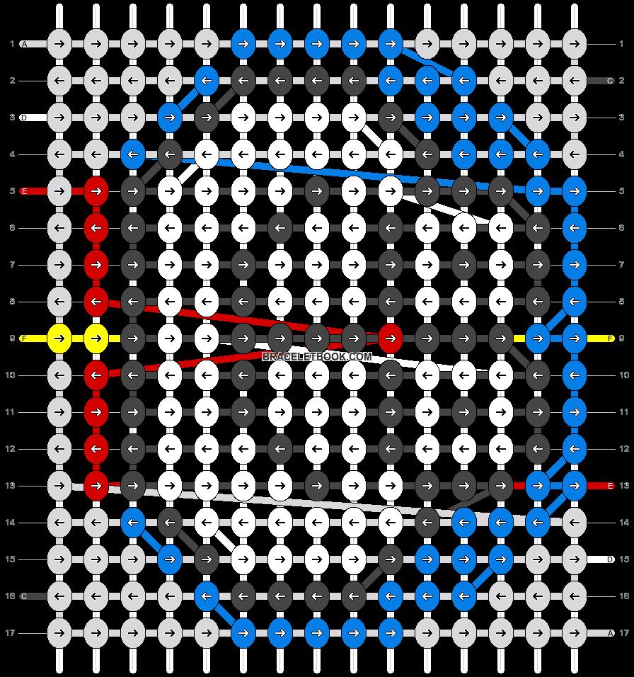 Alpha pattern #14532 pattern