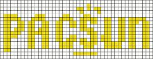 Alpha Friendship Bracelet Pattern #14536