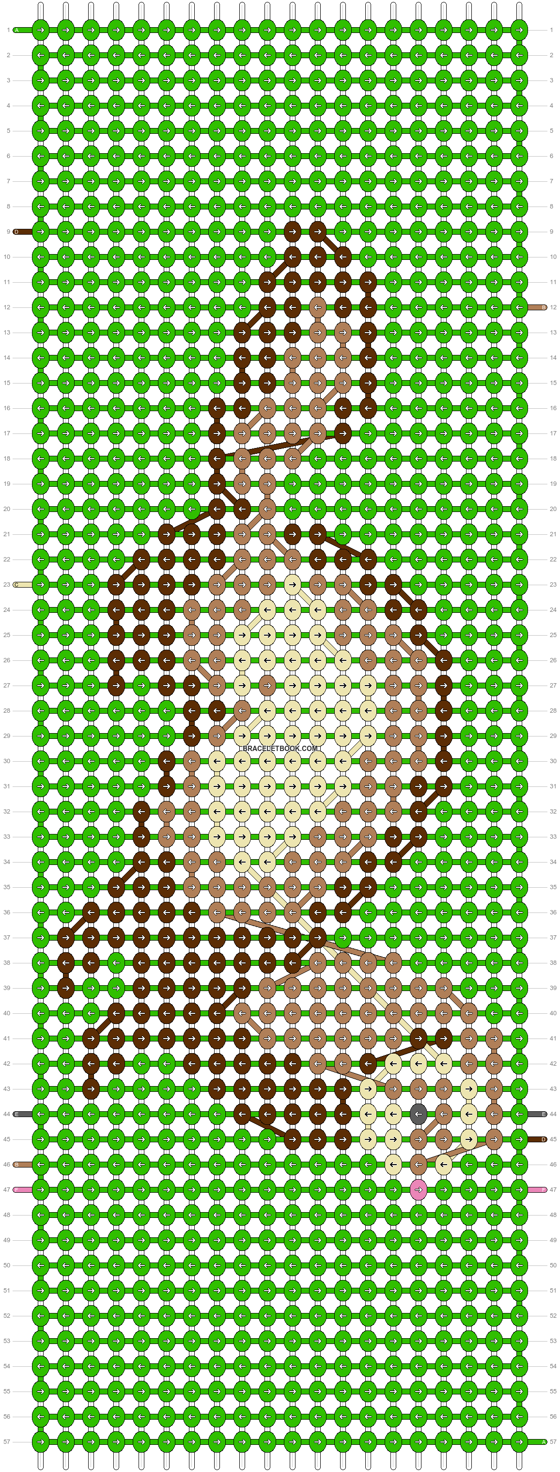 Alpha pattern #14538 pattern