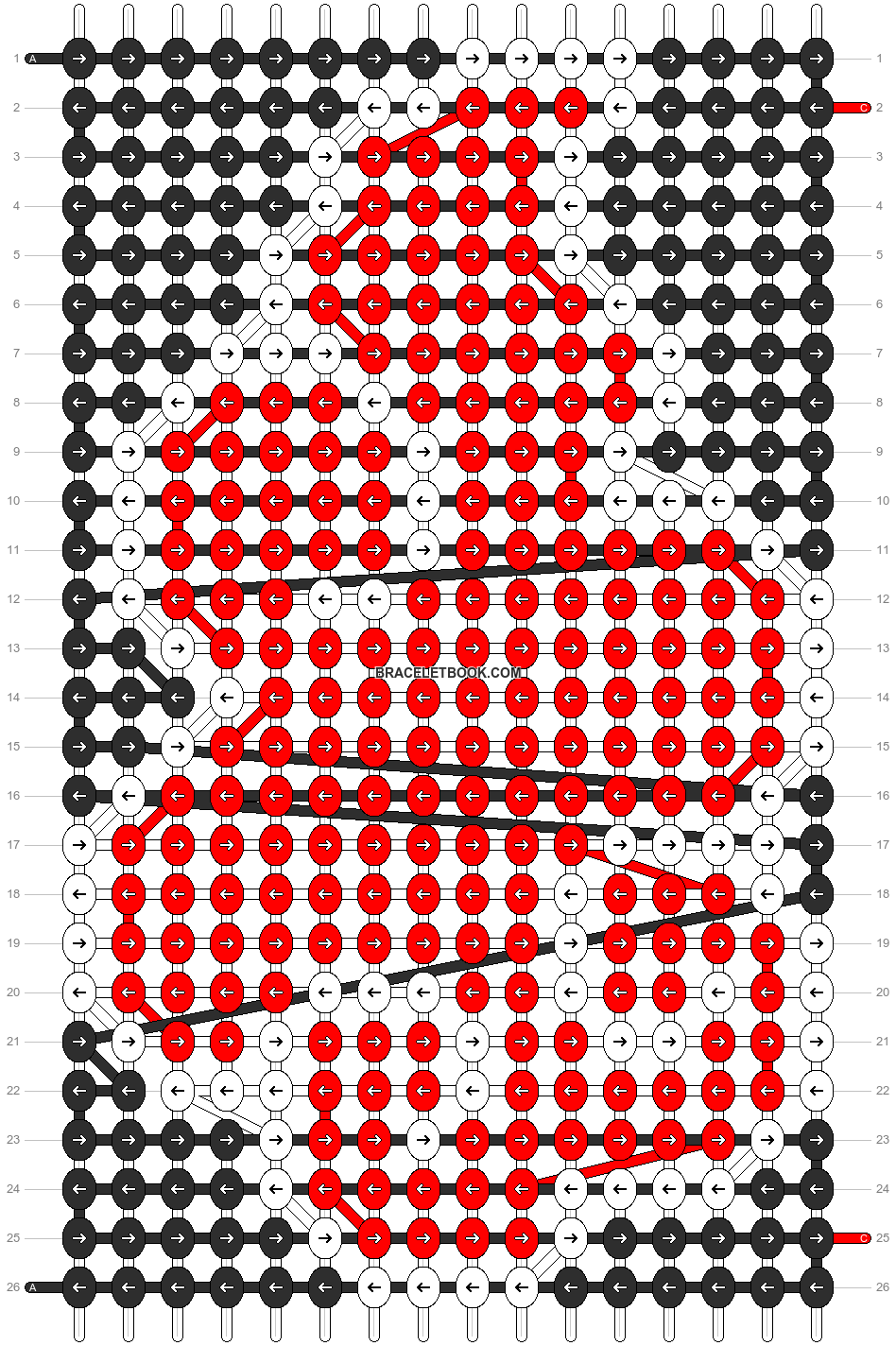 Alpha pattern #14539 pattern