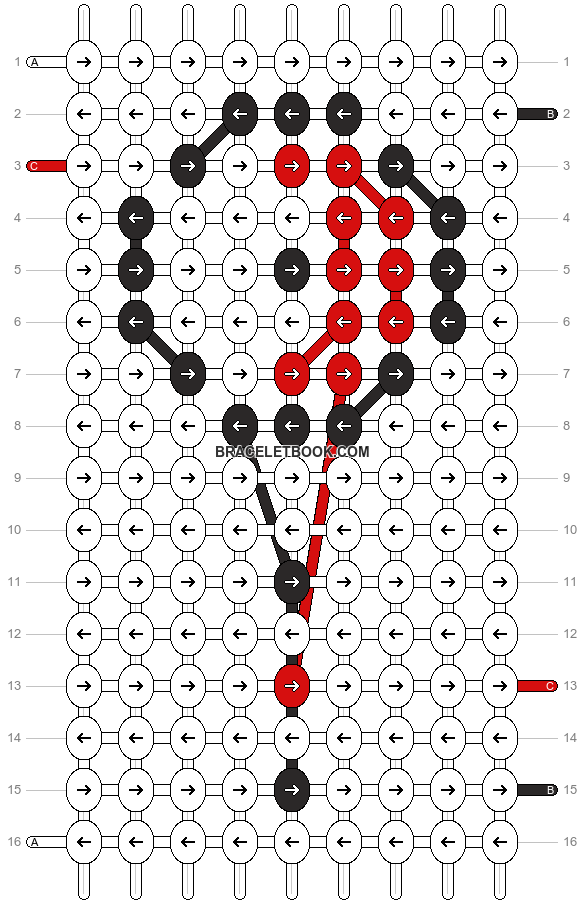 Alpha pattern #14547 pattern