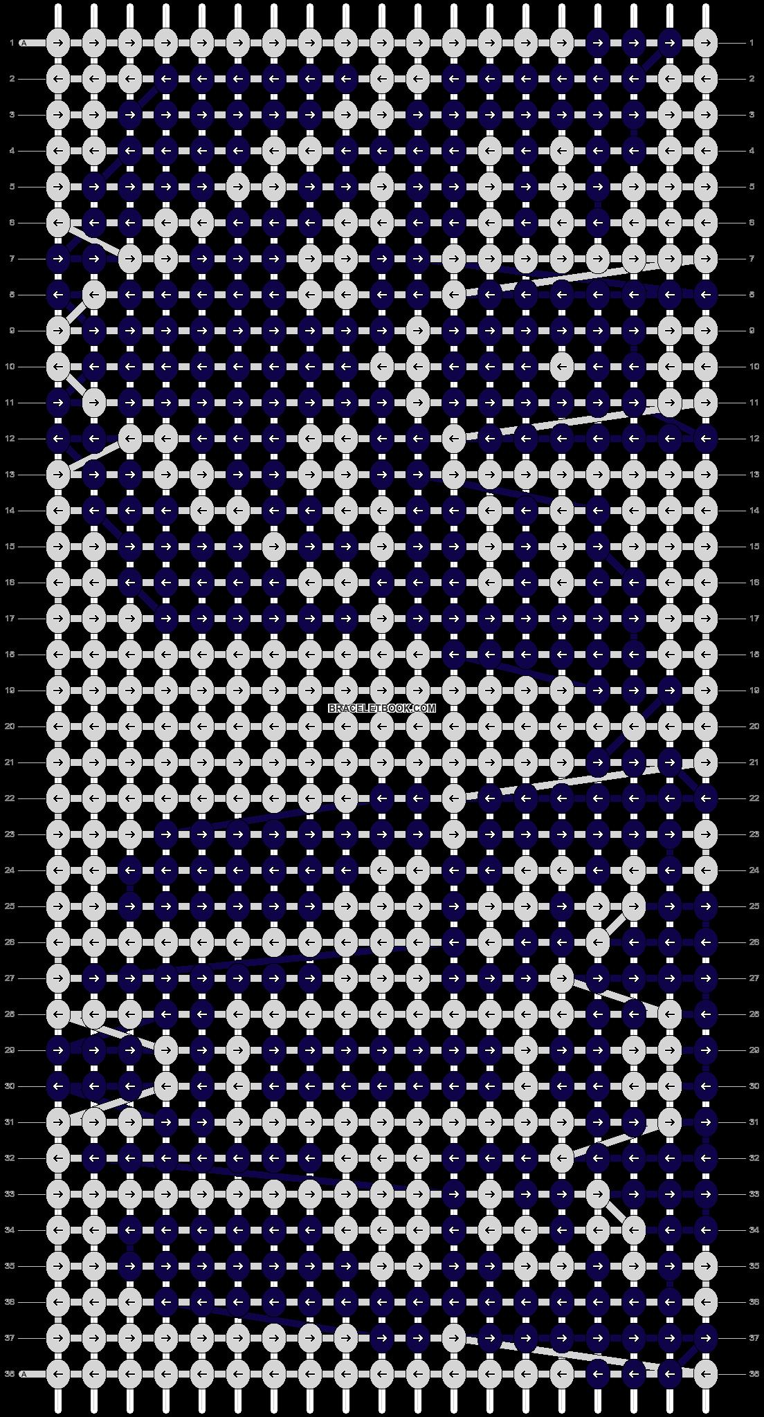 Alpha pattern #14553 pattern