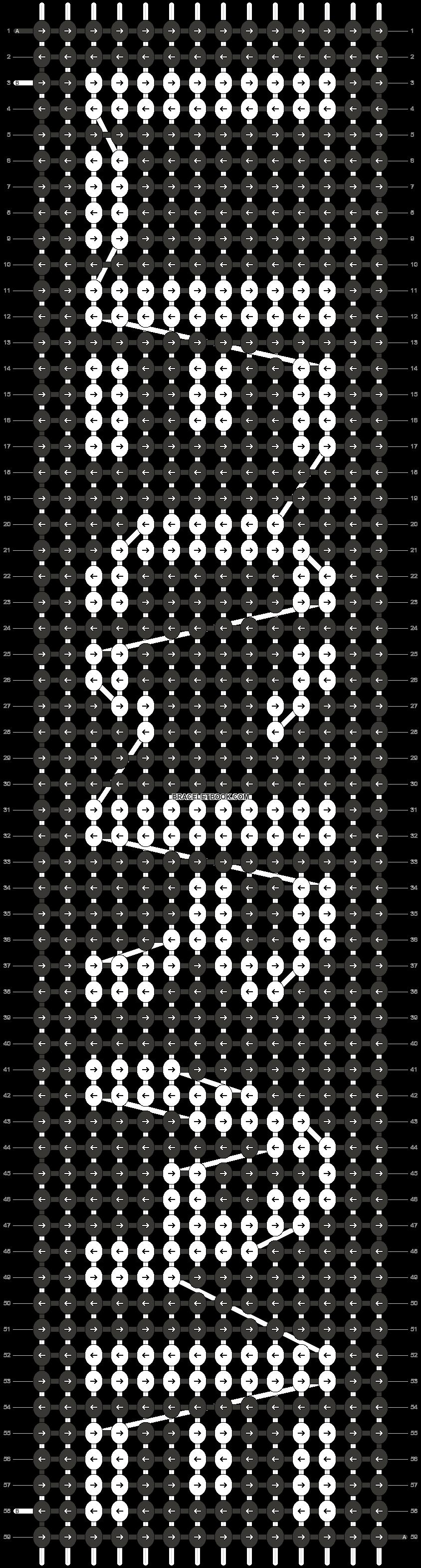 Alpha pattern #14555 pattern