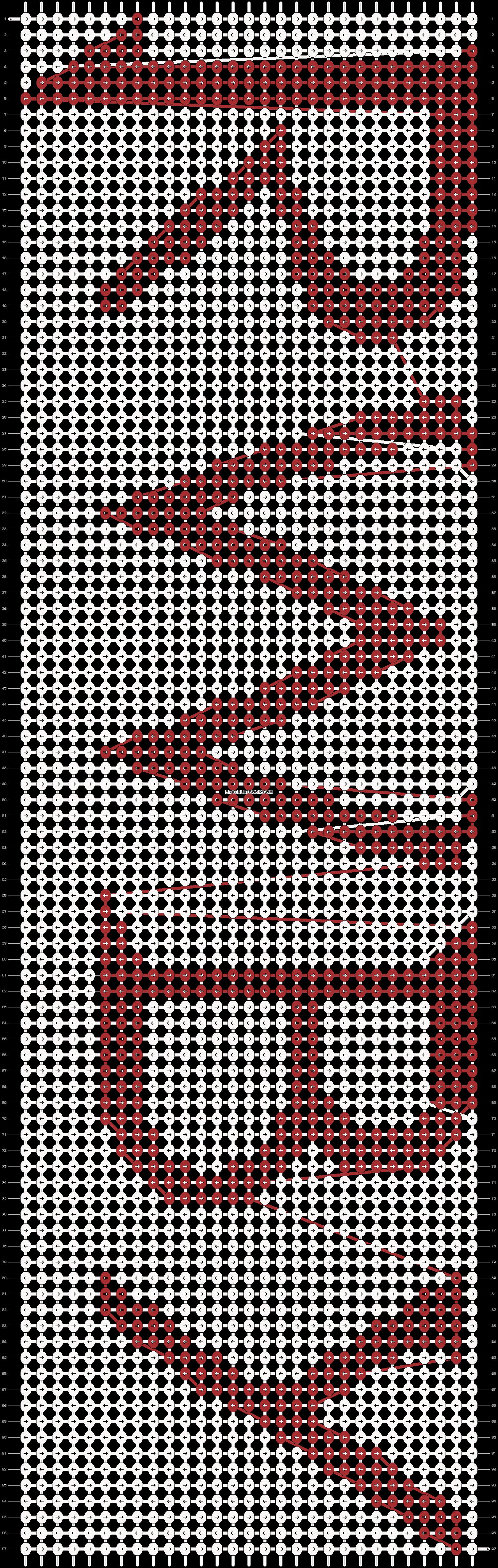 Alpha pattern #14560 pattern