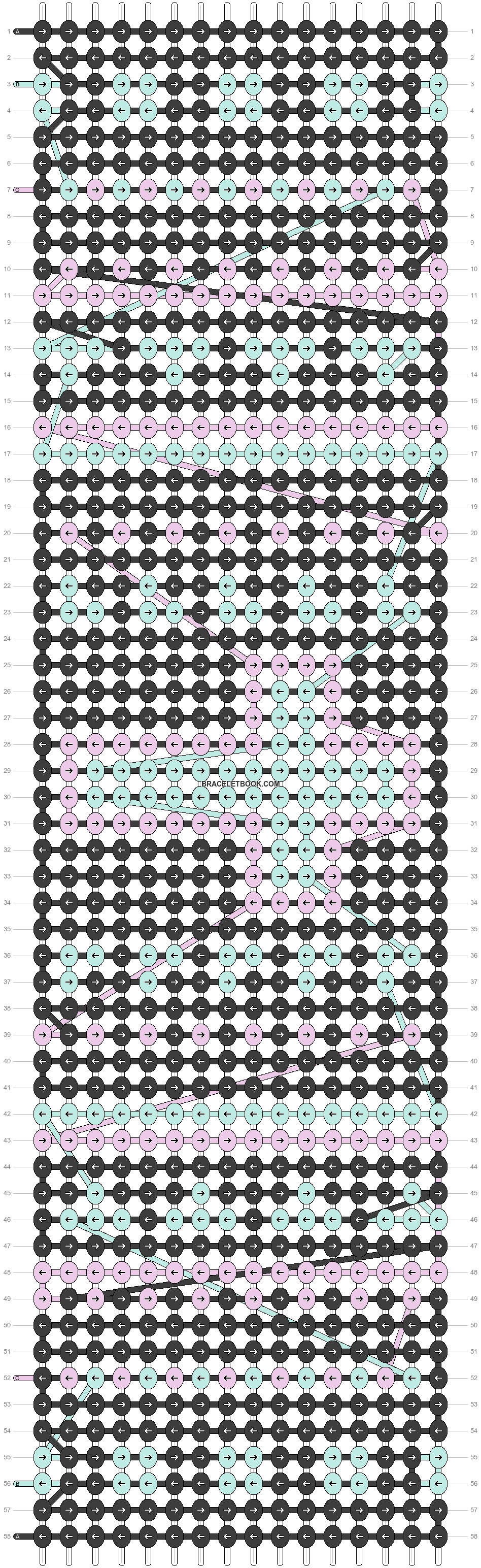 Alpha pattern #14564 pattern