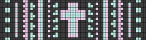 Alpha pattern #14564