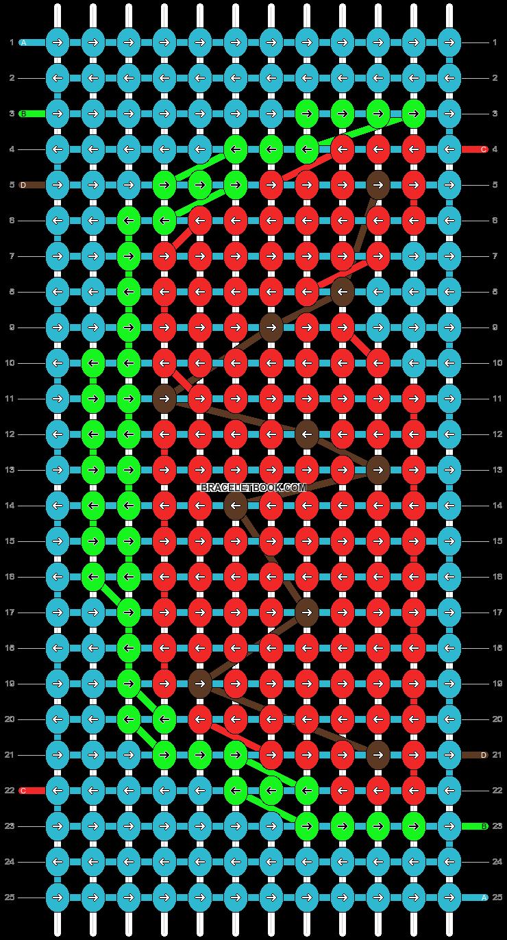 Alpha pattern #14565 pattern