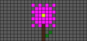 Alpha pattern #14570