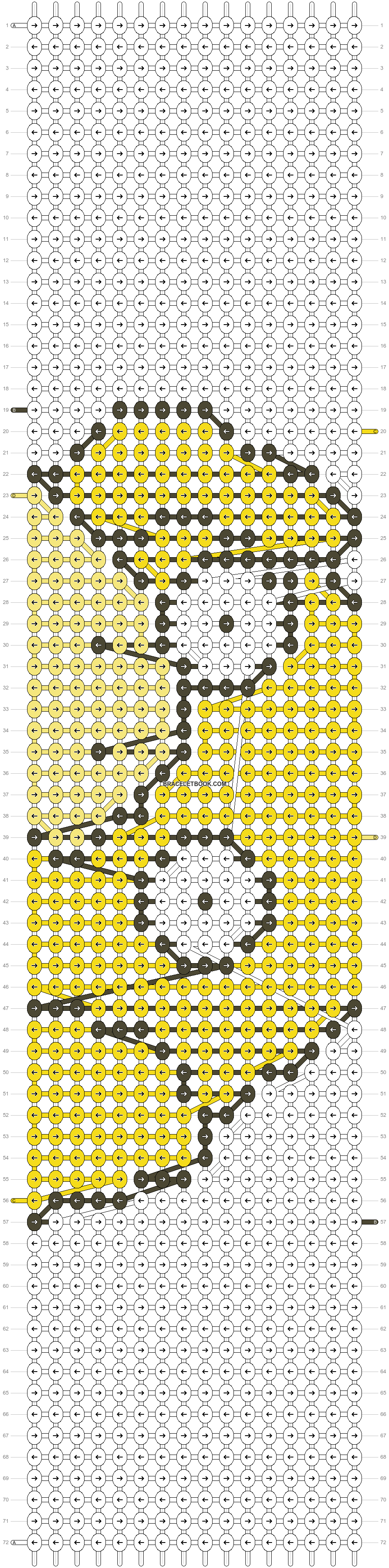 Alpha pattern #14573 pattern