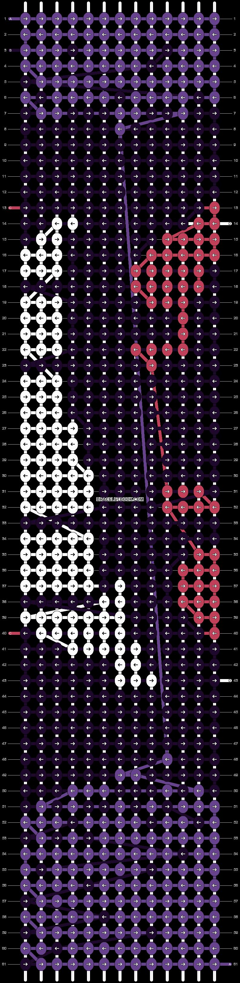 Alpha pattern #14574 pattern