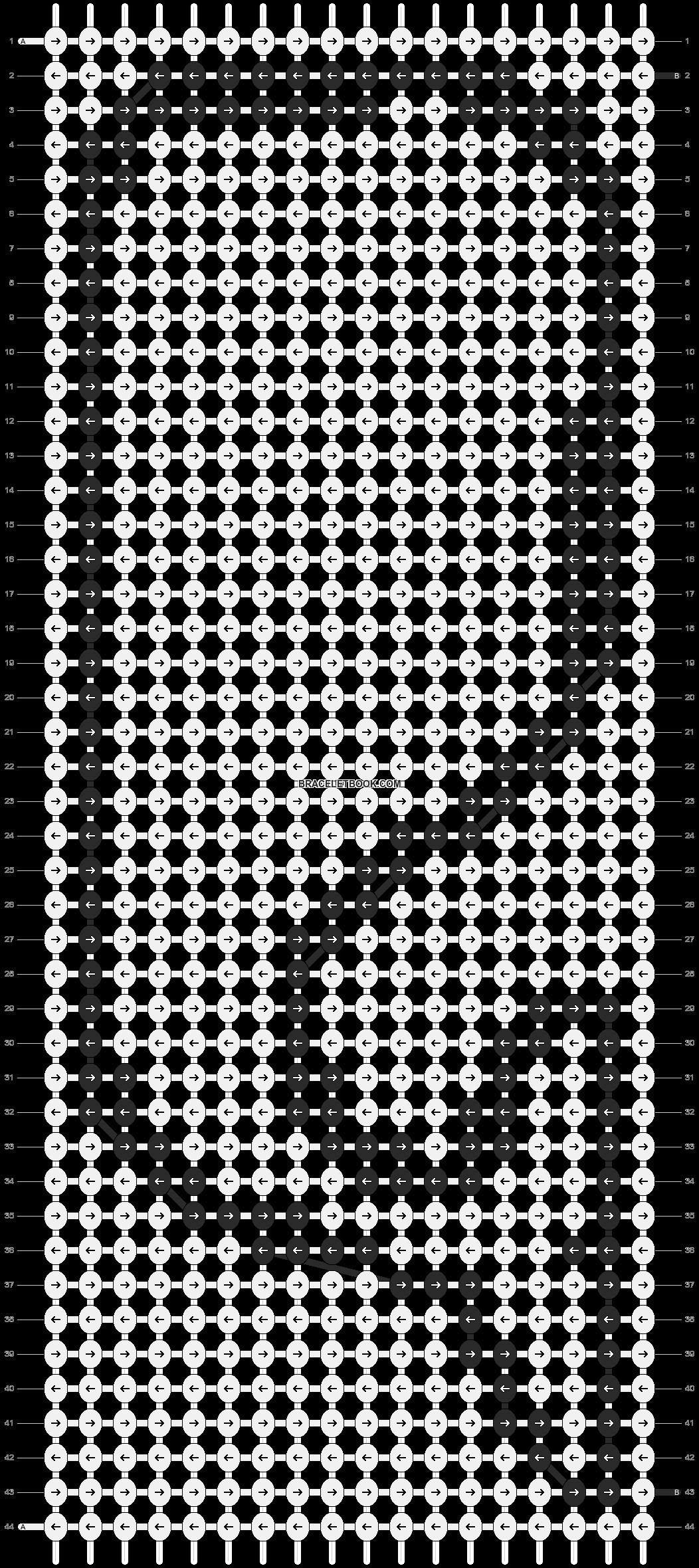 Alpha pattern #14577 pattern