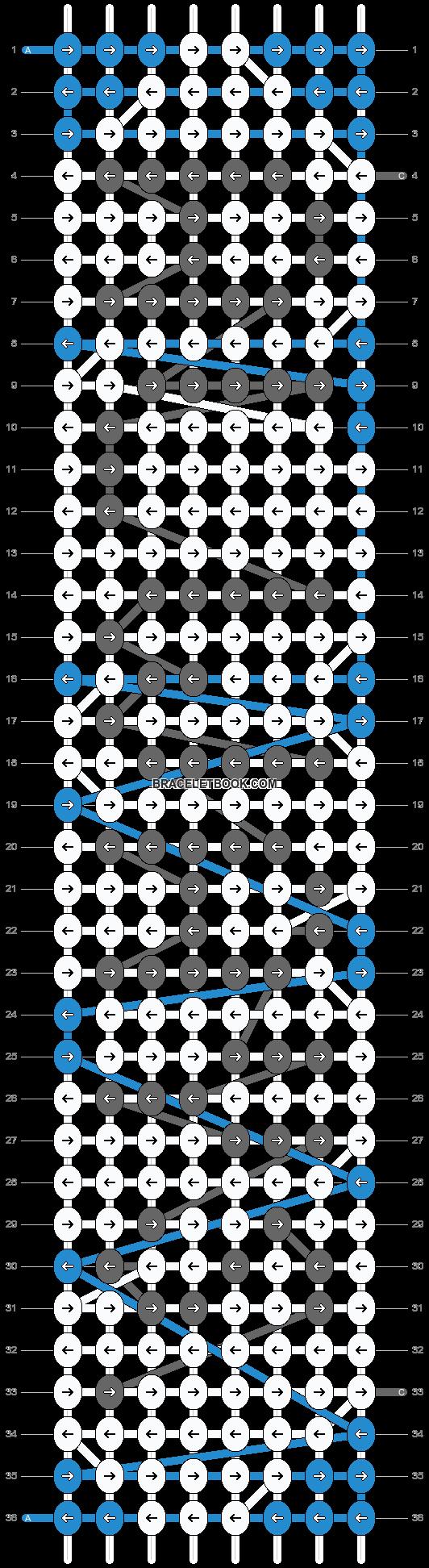 Alpha pattern #14578 pattern