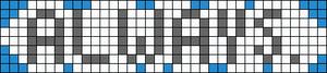 Alpha pattern #14578