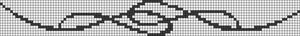 Alpha Friendship Bracelet Pattern #14582