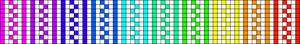 Alpha Friendship Bracelet Pattern #14590