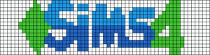 Alpha pattern #14592