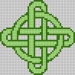 Alpha Friendship Bracelet Pattern #14594
