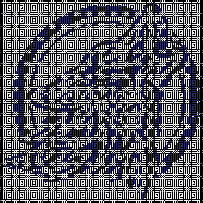 Alpha pattern #14595 pattern