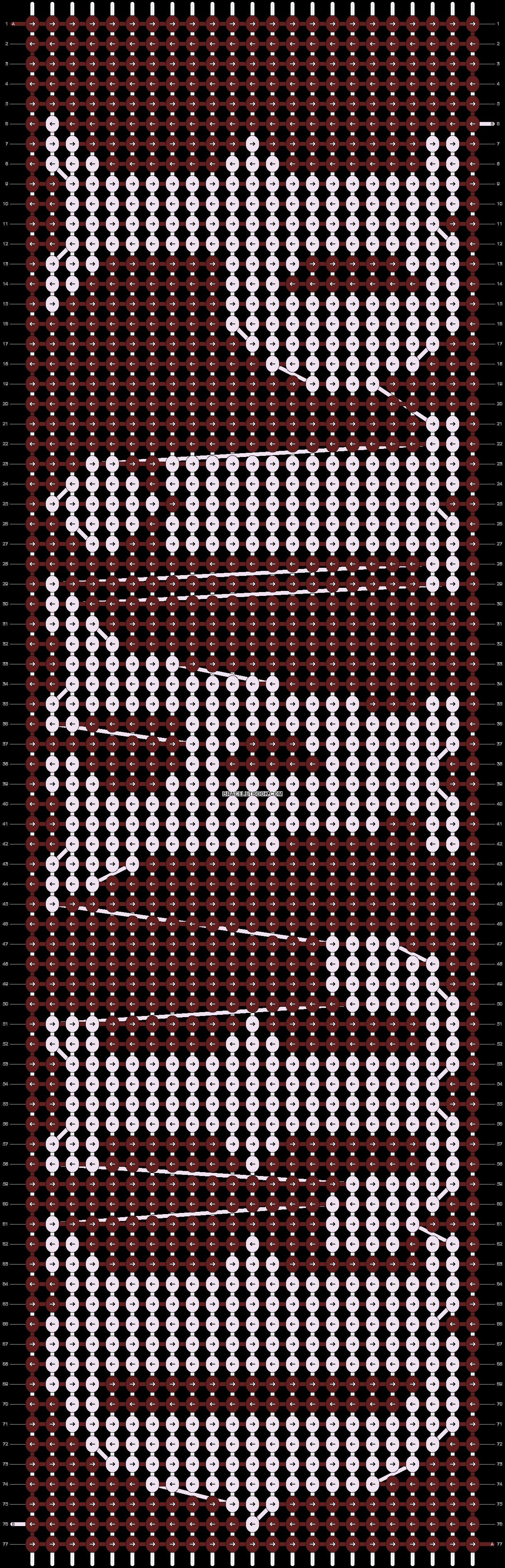 Alpha pattern #14596 pattern