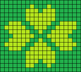 Alpha Friendship Bracelet Pattern #14600