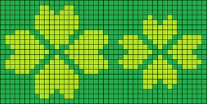 Alpha Friendship Bracelet Pattern #14601