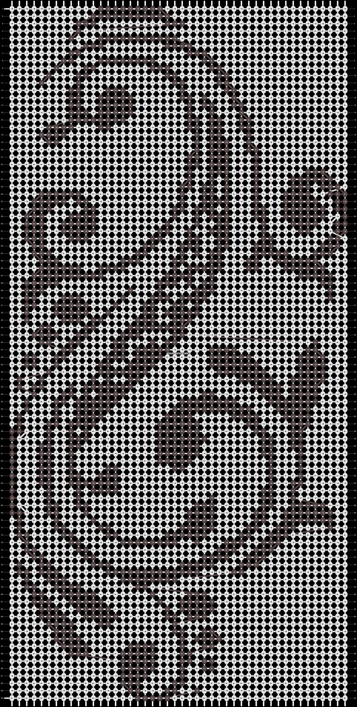 Alpha pattern #14604 pattern